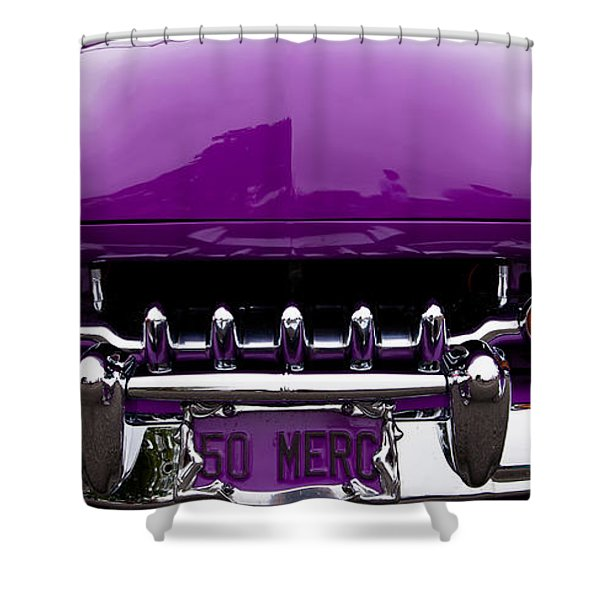 1950 Mercury Shower Curtain by David Patterson