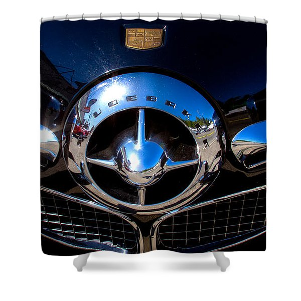 1950 Studebaker Champion Shower Curtain by David Patterson