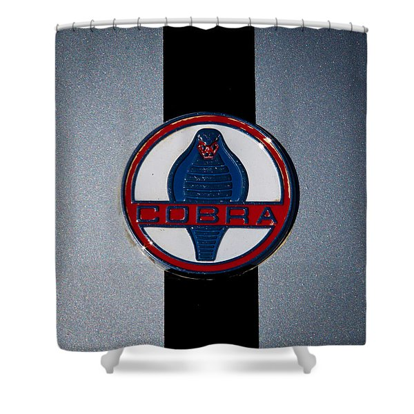 1966 Ford Ac Shelby Cobra 427 Shower Curtain by David Patterson