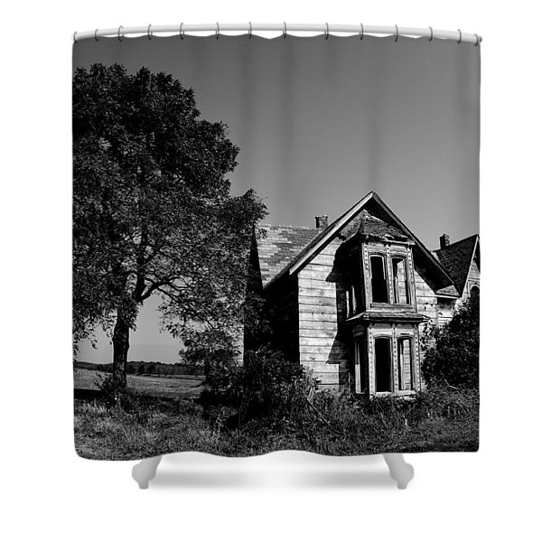 Abandoned House Shower Curtain by Cale Best