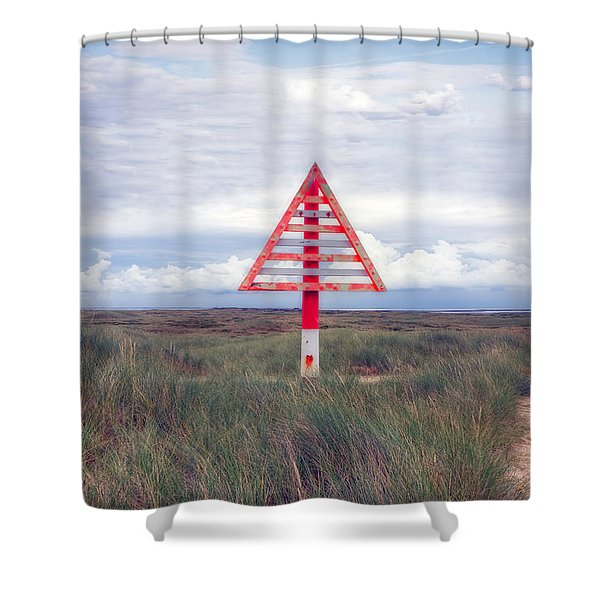 elbow - Sylt Shower Curtain by Joana Kruse