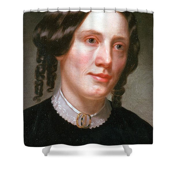 Harriet Beecher Stowe, American Shower Curtain by Photo Researchers