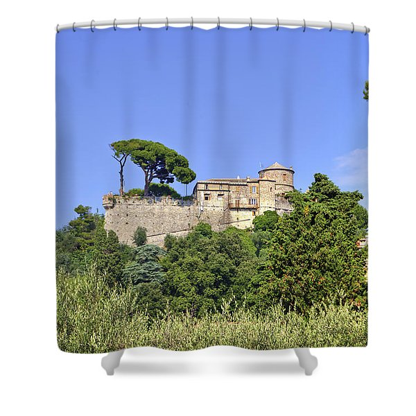Portofino Shower Curtain by Joana Kruse