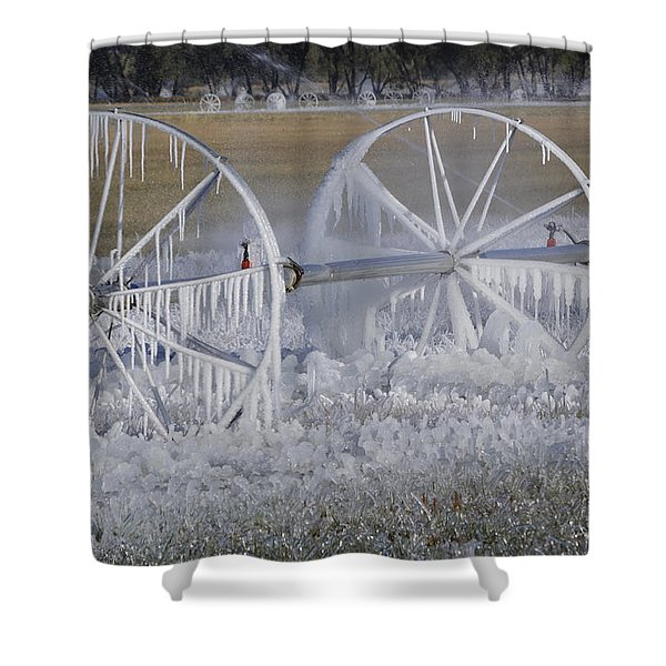 23 Degrees Shower Curtain by Fran Riley
