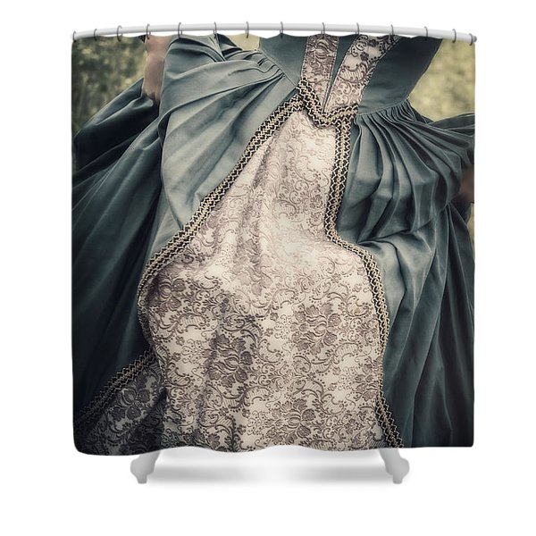 renaissance princess Shower Curtain by Joana Kruse
