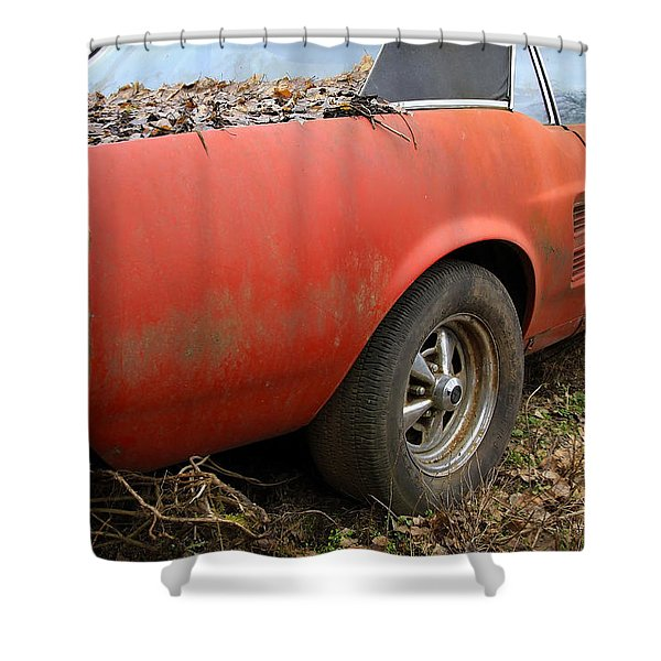 68 Stang Shower Curtain by Steve McKinzie