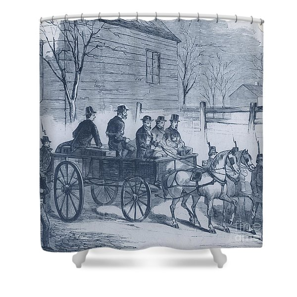 John Brown, American Abolitionist Shower Curtain by Photo Researchers