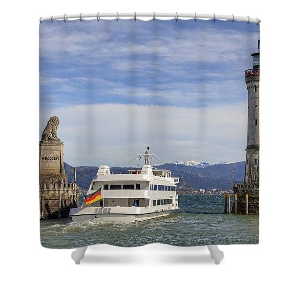 Lindau Shower Curtain by Joana Kruse