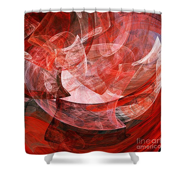 A Mothers Womb . Square . A120422.446 Shower Curtain by Wingsdomain Art and Photography