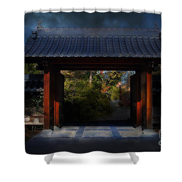 A Samurai.s Menagerie . 7D12779 Shower Curtain by Wingsdomain Art and Photography
