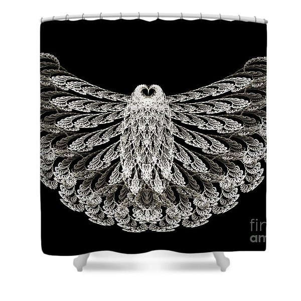 A Wise Old Owl Shower Curtain by Andee Design