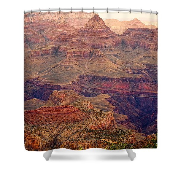 Amazing Colorful Spring Grand Canyon View Shower Curtain by James BO  Insogna