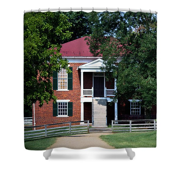 Appomattox County Court House 1 Shower Curtain by Teresa Mucha