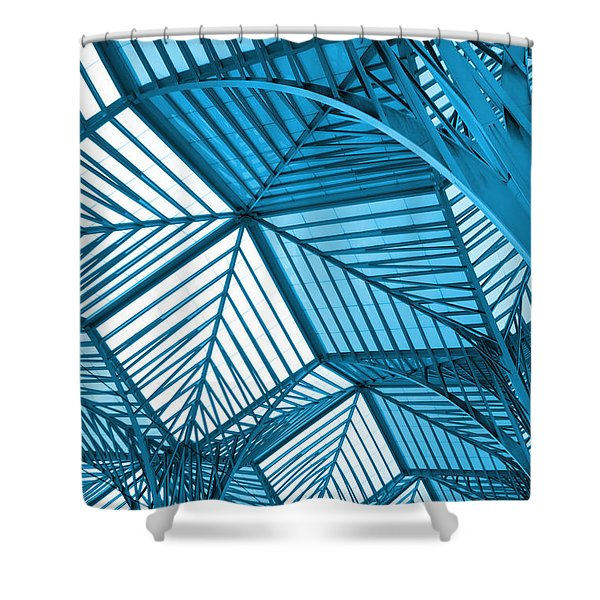 Architecture Design Shower Curtain by Carlos Caetano
