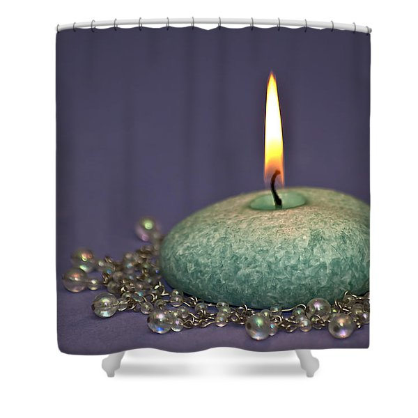 Aromatherapy Shower Curtain by Carolyn Marshall