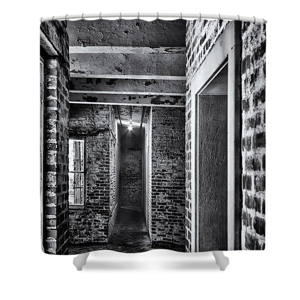 Atalaya Castle 5 Shower Curtain by Roger Wedegis