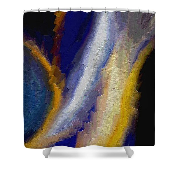 Atlantis Shower Curtain by Ely Arsha