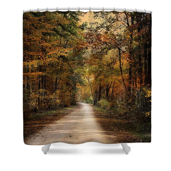 Autumn Forest 3 Shower Curtain by Jai Johnson