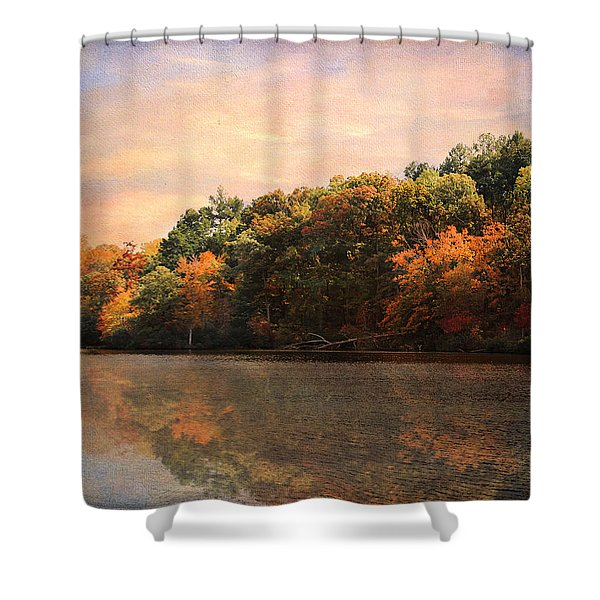 Autumn Reflections 2 Shower Curtain by Jai Johnson