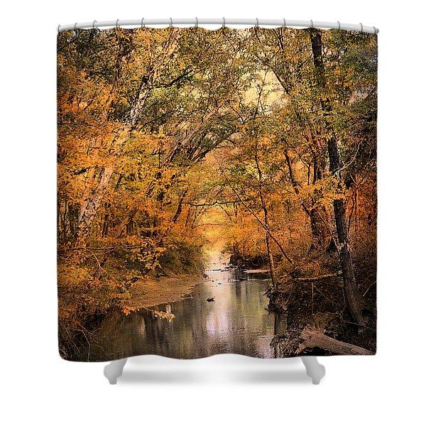 Autumn Riches 2 Shower Curtain by Jai Johnson