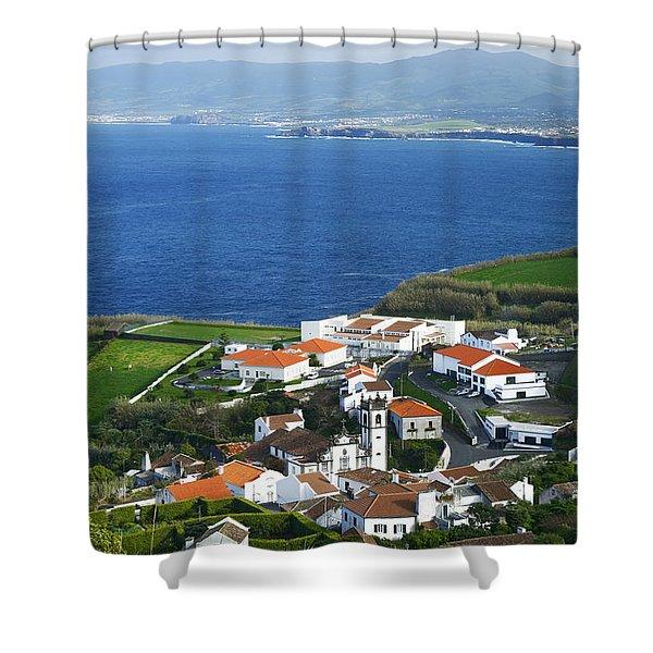 Azores Shower Curtain by Gaspar Avila