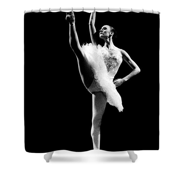 Ballet Dance 3 Shower Curtain by Sumit Mehndiratta