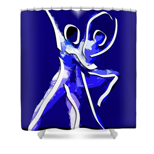 Ballet Shower Curtain by Stephen Younts