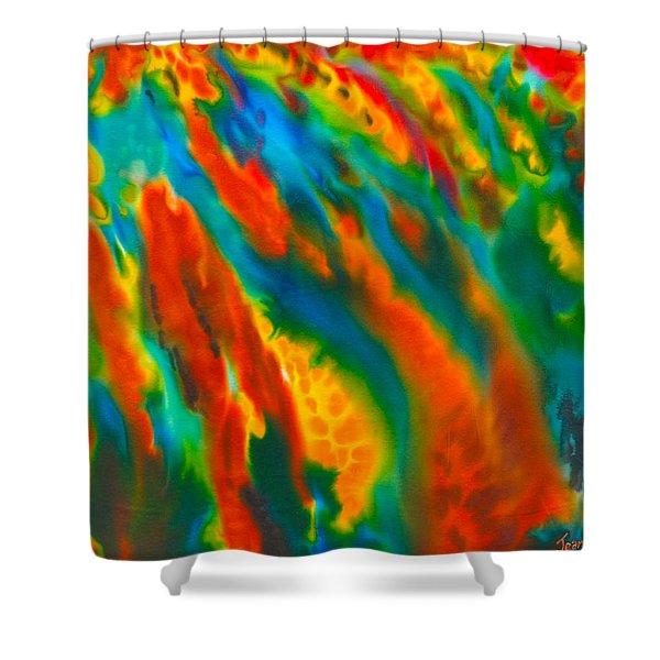 Barbados Shower Curtain by Daniel Jean-Baptiste