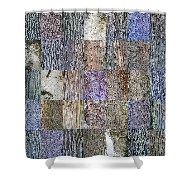 Barkitecture Shower Curtain by Steve Gadomski