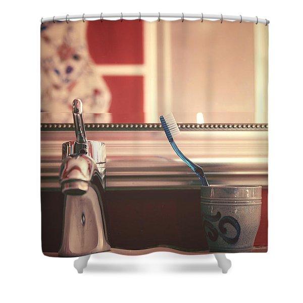 bathroom Shower Curtain by Joana Kruse