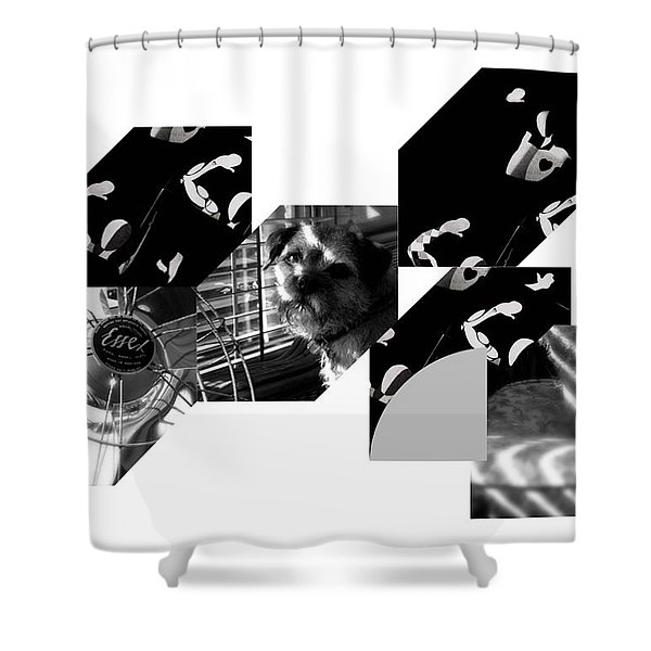 Bauhaus Ballet Toto Shower Curtain by Charles Stuart