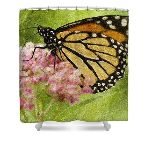 Beauty Of Nature Shower Curtain by Jack Zulli