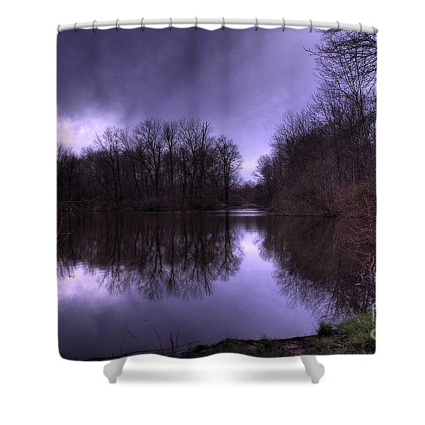 Before the Storm Shower Curtain by Paul Ward