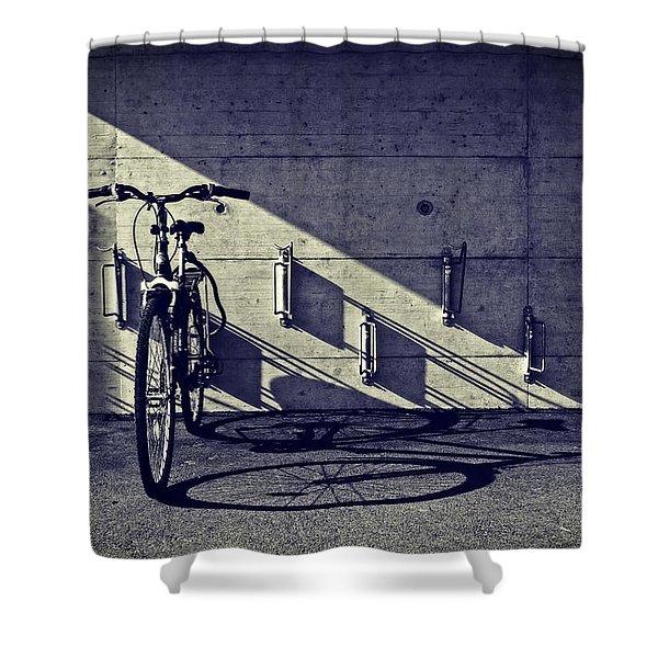 bicycle Shower Curtain by Joana Kruse