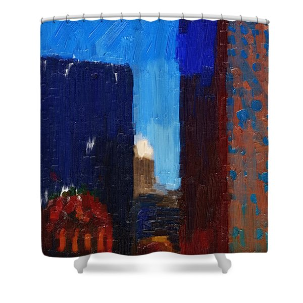 Big City Shower Curtain by Wingsdomain Art and Photography