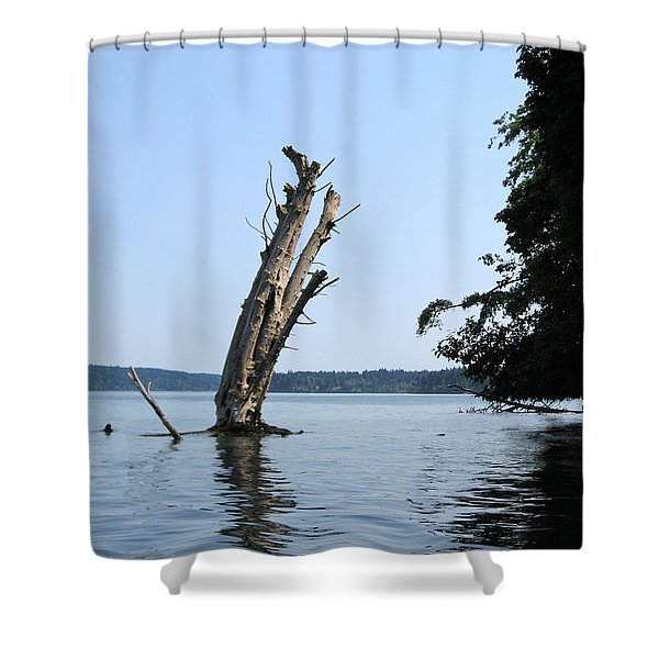 Boaters Nightmare Shower Curtain by Kym Backland
