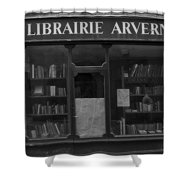 Book Shop Shower Curtain by Nomad Art And  Design