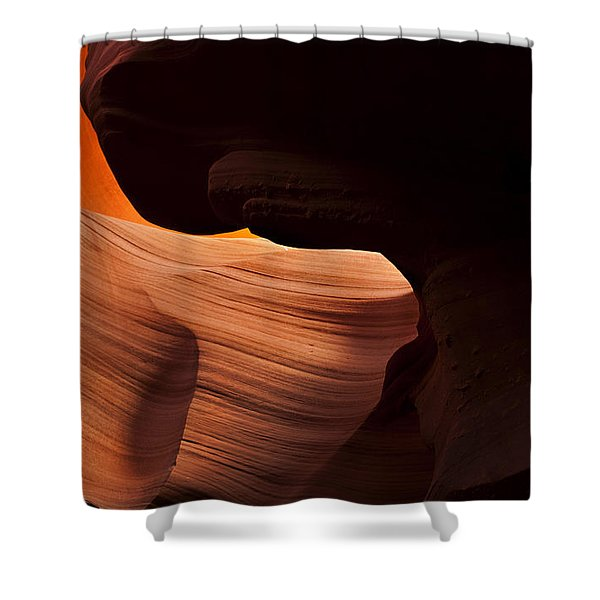 Bridge of the Light Shower Curtain by Mike  Dawson