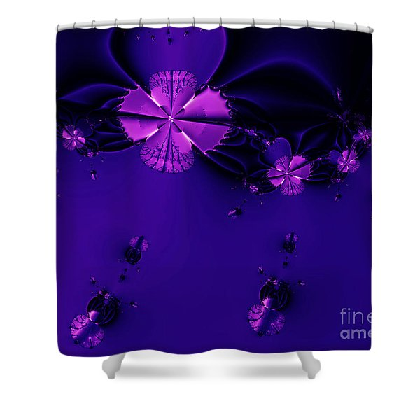 Bumble Beez . S19 Shower Curtain by Wingsdomain Art and Photography