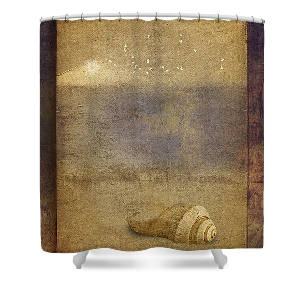 By The Sea Shower Curtain by Ron Jones