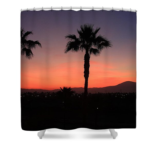 California Dreamin Shower Curtain by Lyle Hatch