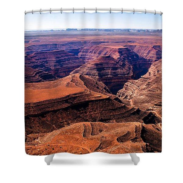 Canyonlands II Shower Curtain by Robert Bales