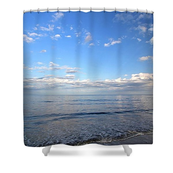 Cape Cod Summer Sky Shower Curtain by Juergen Roth