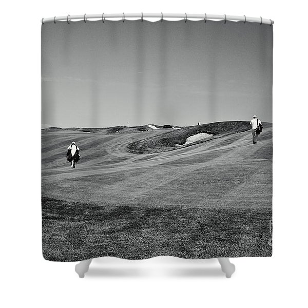 Carrying The Load Shower Curtain by Scott Pellegrin