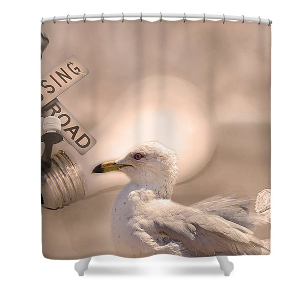 Chapter Nineteen  Shower Curtain by Betsy C  Knapp
