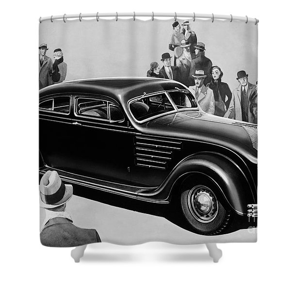 Chrysler Airflow Shower Curtain by Photo Researchers