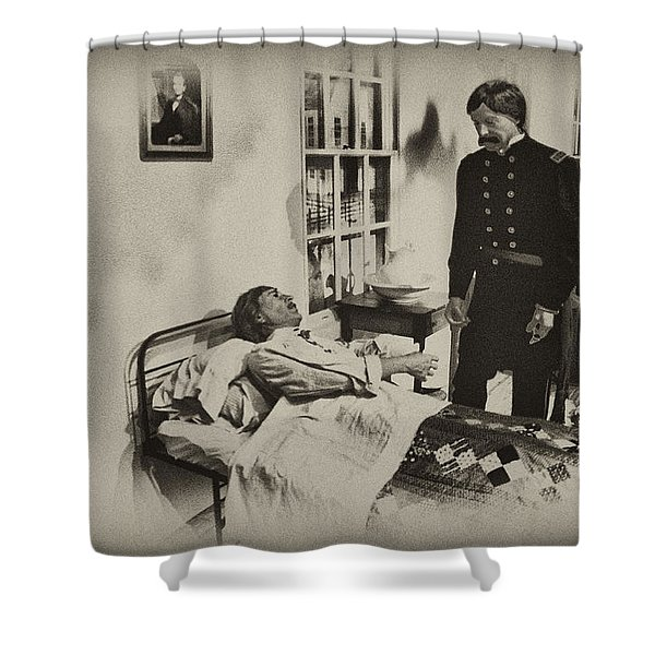 Civil War Hospital Shower Curtain by Bill Cannon