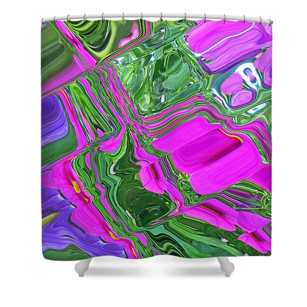 Color Craze Shower Curtain by Aimee L Maher Photography and Art