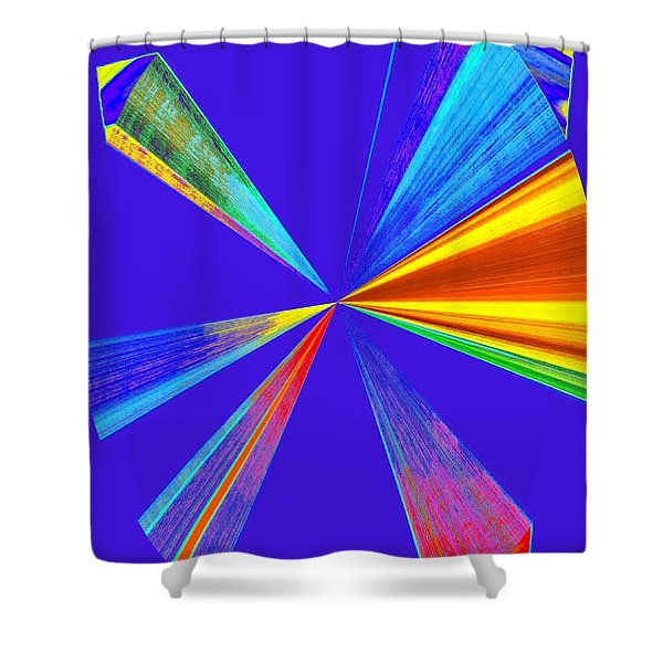 Conceptual 24 Shower Curtain by Will Borden