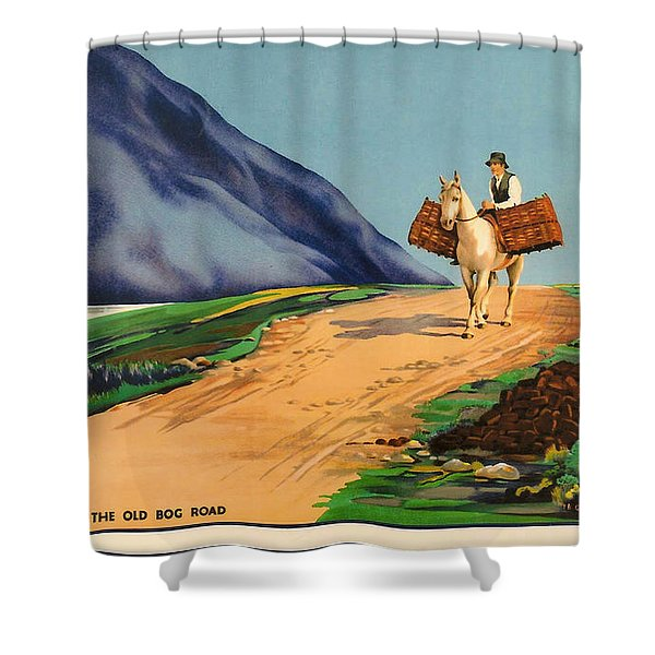 Connemara - Ireland Shower Curtain by Nomad Art And  Design